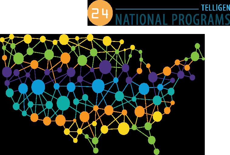 24 Telligen National Programs